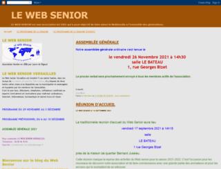 lewebsenior.blogspot.fr screenshot