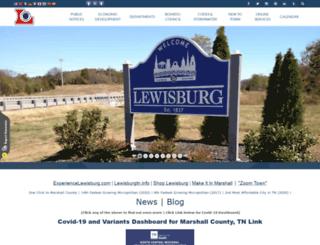 lewisburgtn.com screenshot