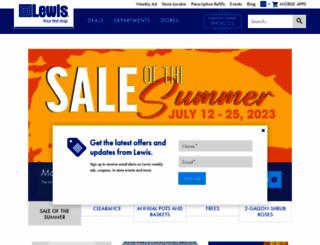 lewisdrug.com screenshot
