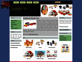 lewoodentoy.co.uk screenshot