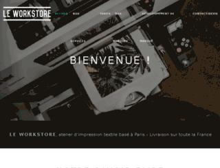 leworkstore.fr screenshot