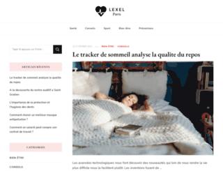 lexel-paris.com screenshot