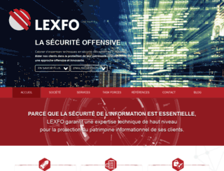 lexfo.fr screenshot