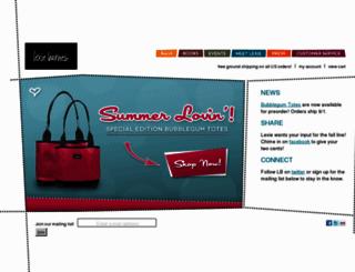 lexiebarnes.com screenshot