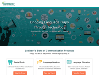 lexikeet.com screenshot