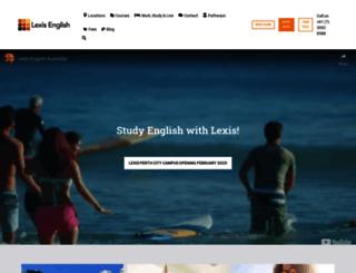 lexisenglish.com screenshot