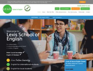 lexislondon.com screenshot