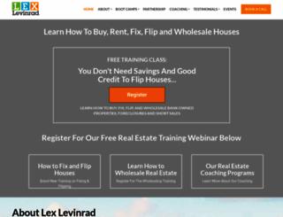 lexlevinrad.com screenshot