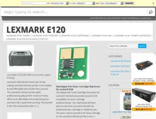 lexmarke120.com screenshot