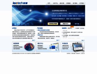 lexotech.com screenshot