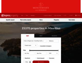 lexpressproperty.com screenshot
