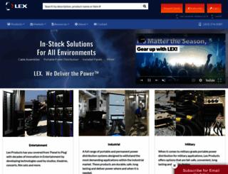lexproducts.com screenshot