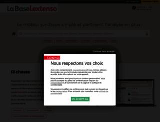 lextenso.fr screenshot