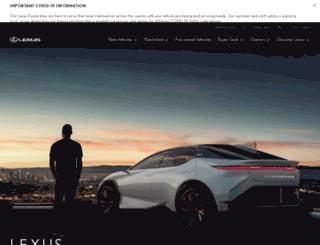 lexus.co.nz screenshot
