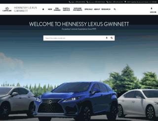 lexusgwinnett.com screenshot