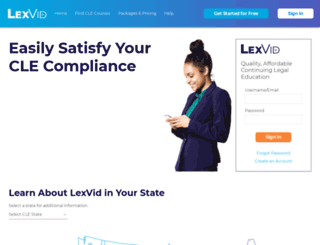 lexvid.com screenshot