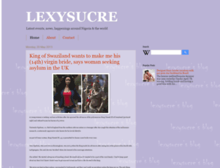 lexysucre.blogspot.com screenshot