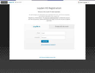 leyden.8to18.com screenshot