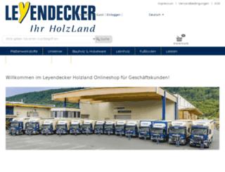 leyendecker.allgeier-it.de screenshot