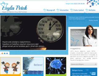 leylapetek.com screenshot