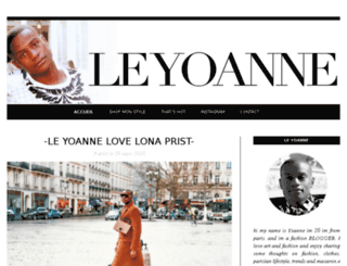 leyoanne.com screenshot