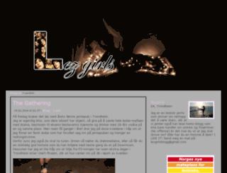 lezgirls.blogg.no screenshot