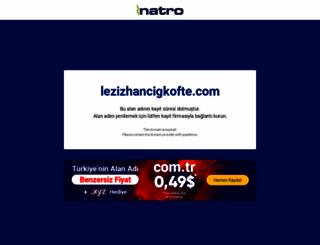 lezizhancigkofte.com screenshot