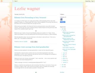 lezliewagner.blogspot.com screenshot