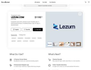 lezum.com screenshot