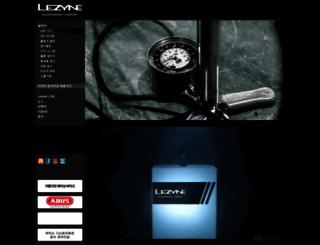 lezyne.co.kr screenshot