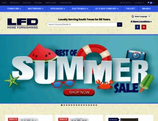 lfdfurniture.com screenshot