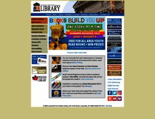 lfpl.org screenshot