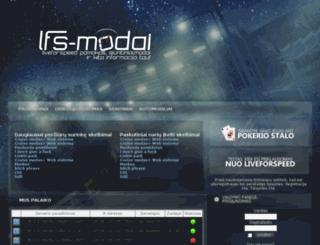 lfs-modai.us.lt screenshot