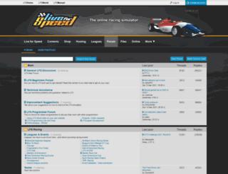 lfsforum.com screenshot