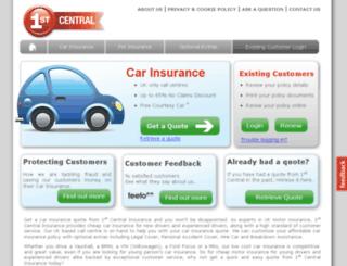 lg.1stcentralinsurance.com screenshot