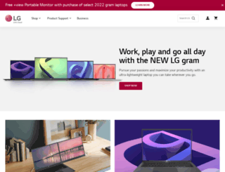 lg.com screenshot
