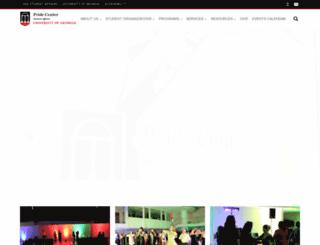 lgbtcenter.uga.edu screenshot