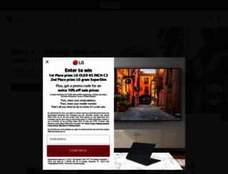 lge.com screenshot