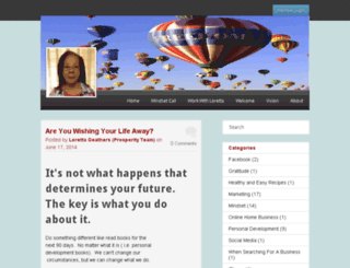 lgeathers.empowernetwork.com screenshot