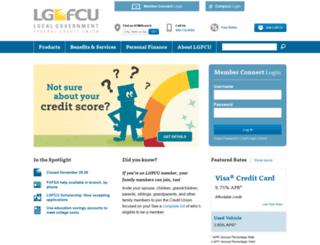 lgfcu.com screenshot