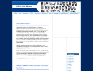 lgmobileprice.blogspot.com screenshot