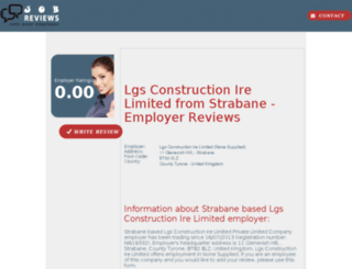 lgs-construction-ire-limited.job-reviews.co.uk screenshot