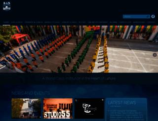 lgs.edu.pk screenshot