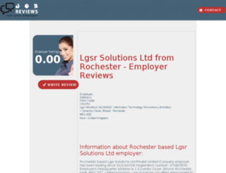 lgsr-solutions-ltd.job-reviews.co.uk screenshot