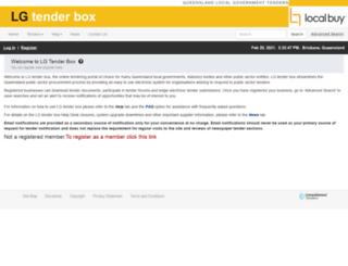 lgtenderbox.com.au screenshot