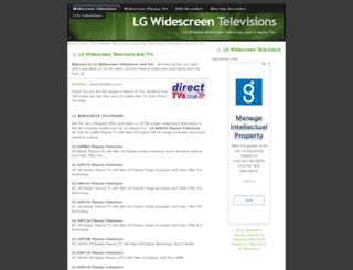 lgtvs.widescreentelevisions.co.uk screenshot
