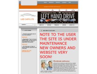 lhd-car.com screenshot