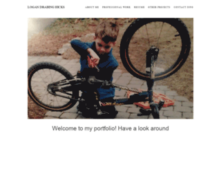 lhicks.portfoliobox.net screenshot