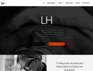 lhkliniken.se screenshot