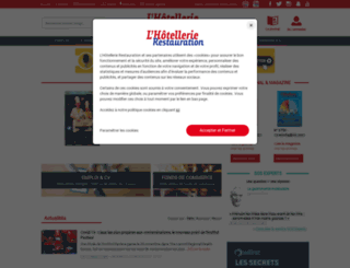 lhotellerie.com screenshot